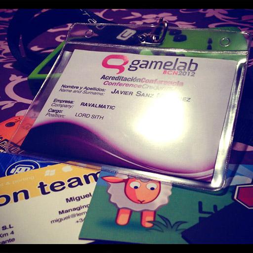 Gamelab 2012 event pass