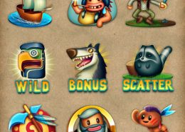 Pocahontas Slots html5 game features