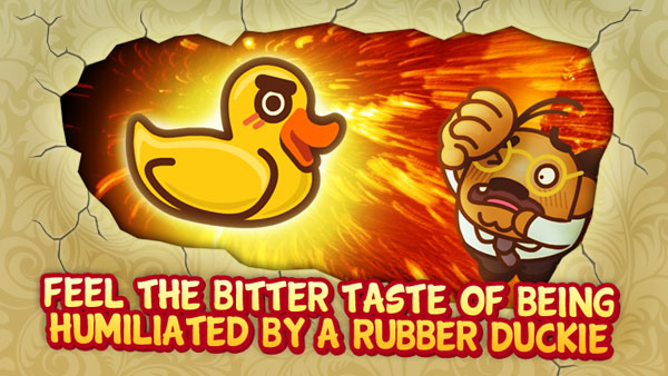 foot chinko rubber duck