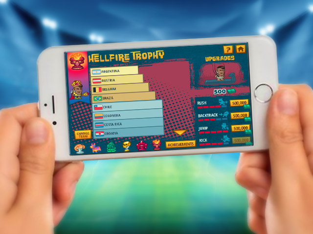 Super Soccer Noggins HTML5 football game