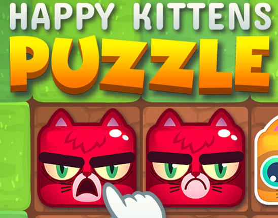 HTML5 game license Happy Kittens Puzzle