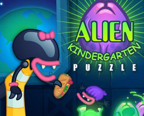 Buy HTML5 games - Alien Kindergarten