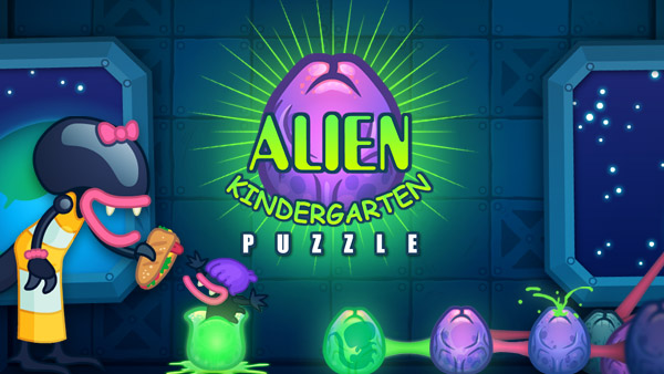 Buy HTML5 game Alien Kindergarten Puzzle