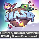 html5 game engine phaser badge