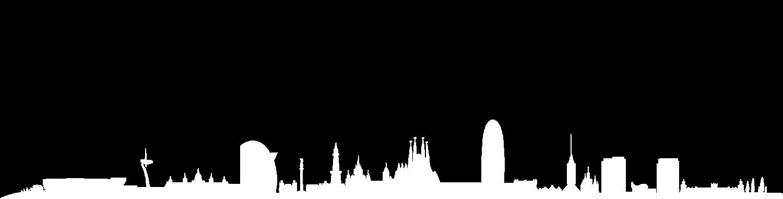 Ravalmatic Game Studios header Barcelona skyline