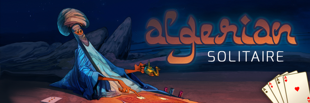 algerian solitaire html5 game banner