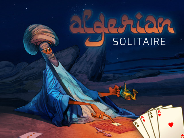 Buy HTML5 game Algerian Solitaire