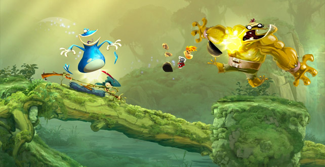 rayman legends visual style