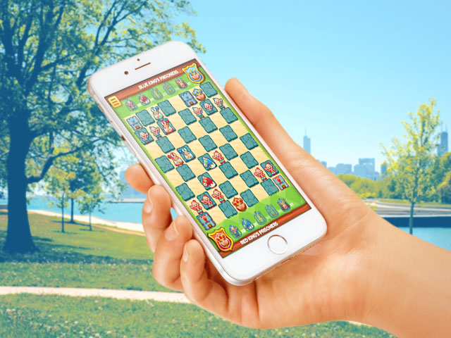 HTML5 game chess smartphone