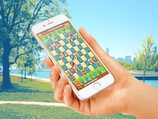HTML5 game chess smartphone