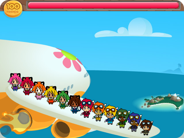 Boom Bang Friends Flash game
