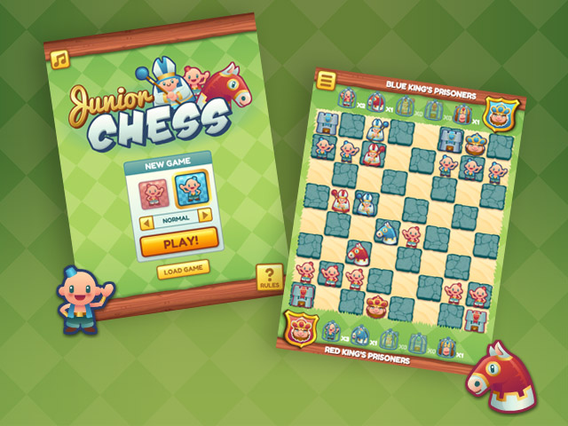 Junior Chess HTML5 game
