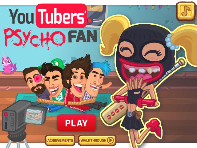 HTML5 game Youtubers Psycho Fan