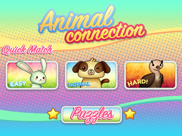 Animal Connection HTML5 game modes