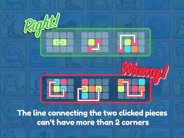 Animal Connection HTML5 game rules