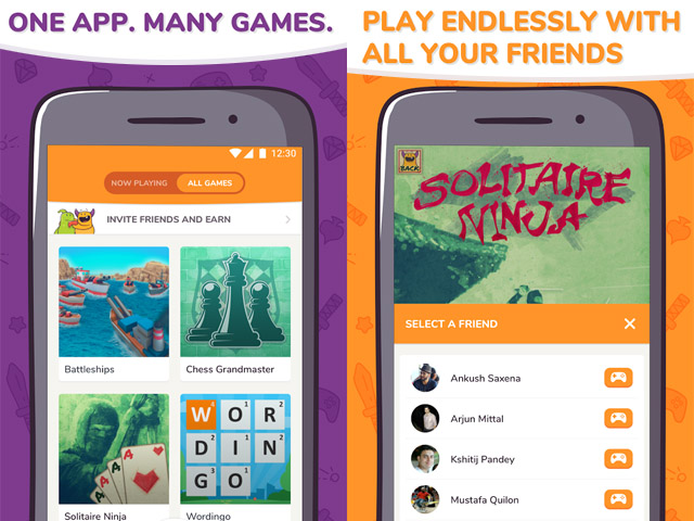 Kapow gaming HUB HTML5 multiplayer games