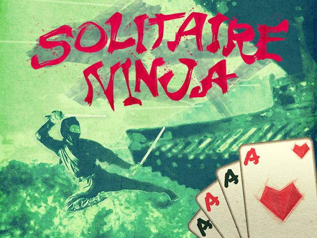 Solitaire Ninja HTML5 multiplayer game
