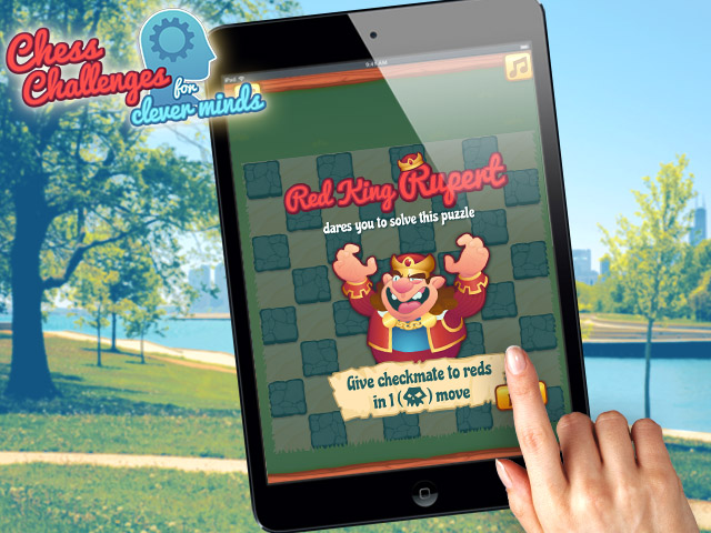 Chess Challenges HTML5 puzzle game