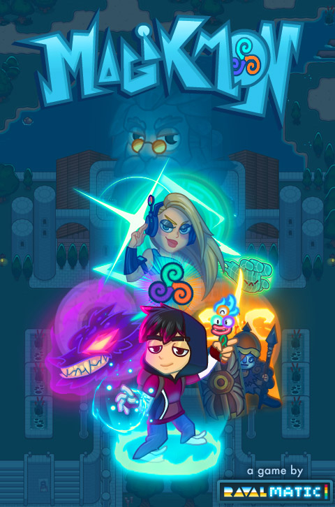 Magikmon HTML5 RPG combat game