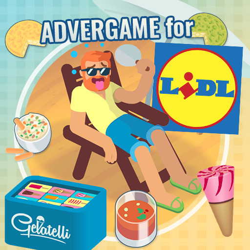 Lidl supermarkets Advergame