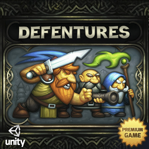 Defentures Unity Game Icon